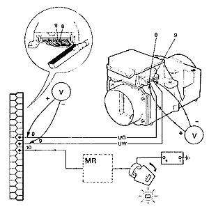 rover sd1 ignition wiring diagram rover sd1 efi system - (flapper) air flow meter #15
