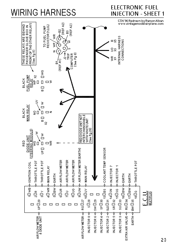 350i running far far too rich after clutch replacement - page 2, Wiring diagram