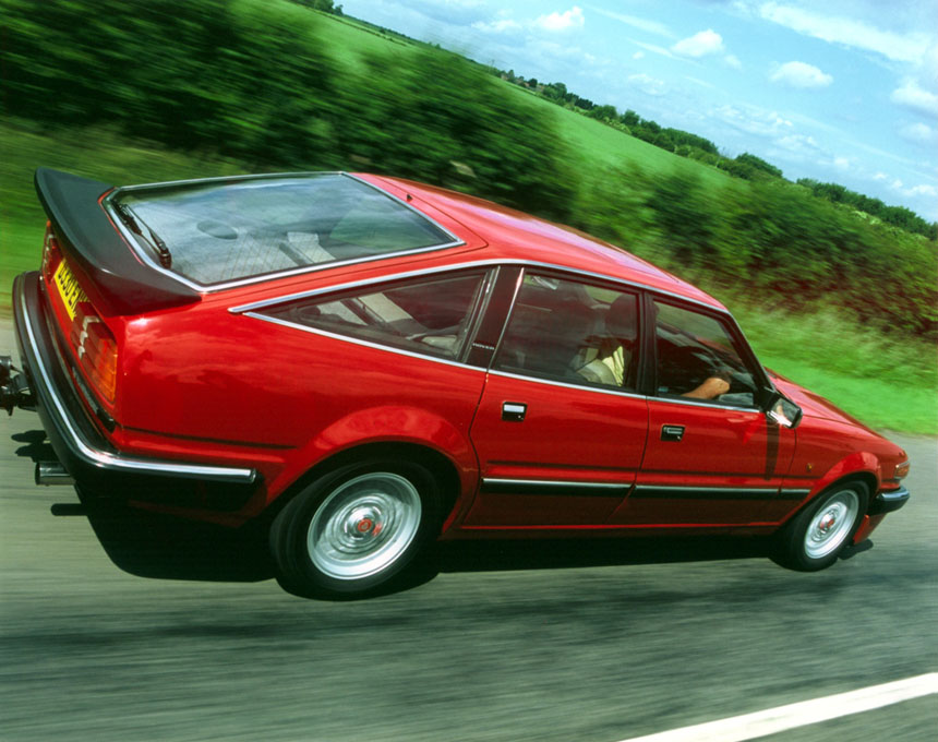 Rover Sd1 3500cc Twin Plenum Vitesse Image No 4