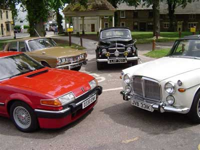 Classic Cars Post War Rovers Photoshoot